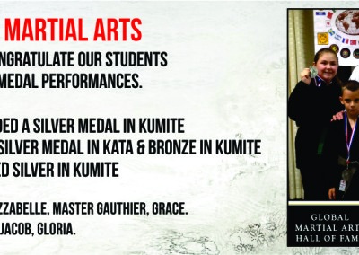 Gauthiers Martial Arts and Self Defence - Students